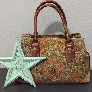 🌸Fossil Canvas Handbag